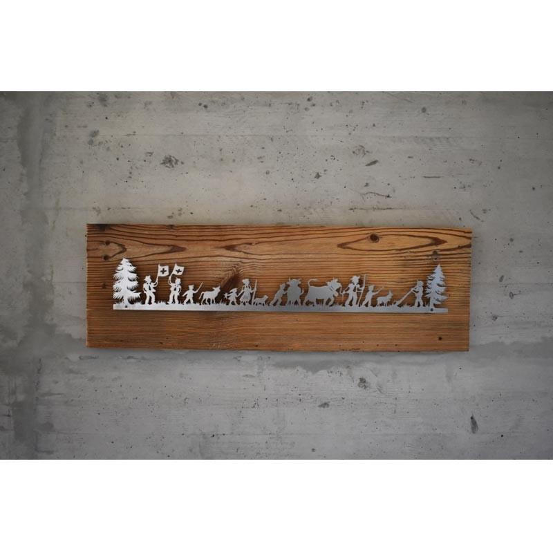 Holzbild Schweizer Tradition