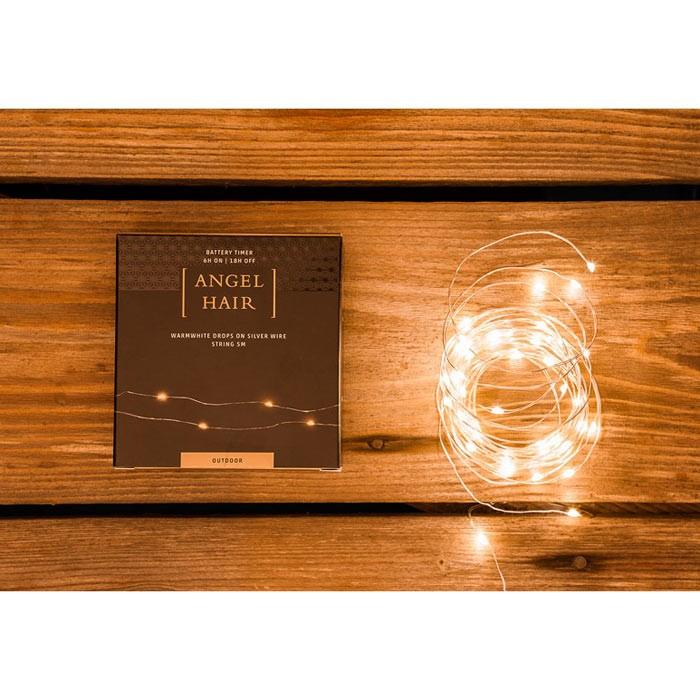 Draht-Lichterkette 5 Meter